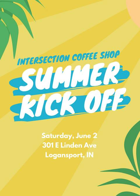 Summer Kick Off at Intersection Coffee Shop @ The Bridge / Intersection Coffee Shop
