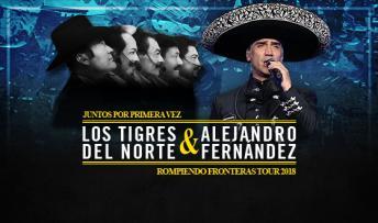 Los Tigres del Norte @ Bojangles Coliseum