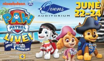 Paw Patrol  Live!: The Great Pirate Adventure @ Ovens Auditorium
