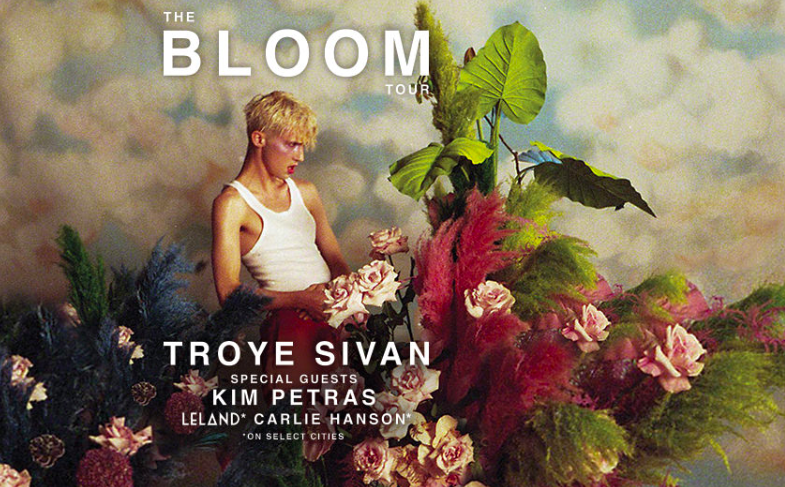 Troye Sivan: The Bloom Tour with special guest Kim Petras @ Charlotte Metro Credit Union Amphitheatre