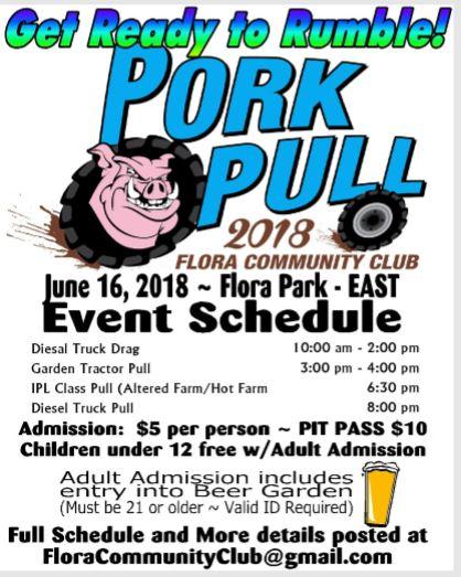 Pork Pull @ Flora Community Park