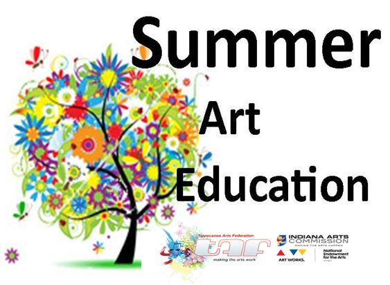 Free Summer Art Classes (K-3) @ Flora-Monroe Township Public Library