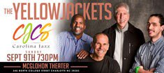 An Evening With The Yellow Jackets @ McGlohon Theater