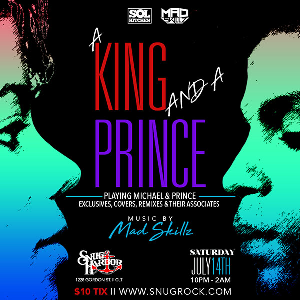 Sol Kitchen and Mad Skillz present 'A King & A Prince' @ Snug Harbor