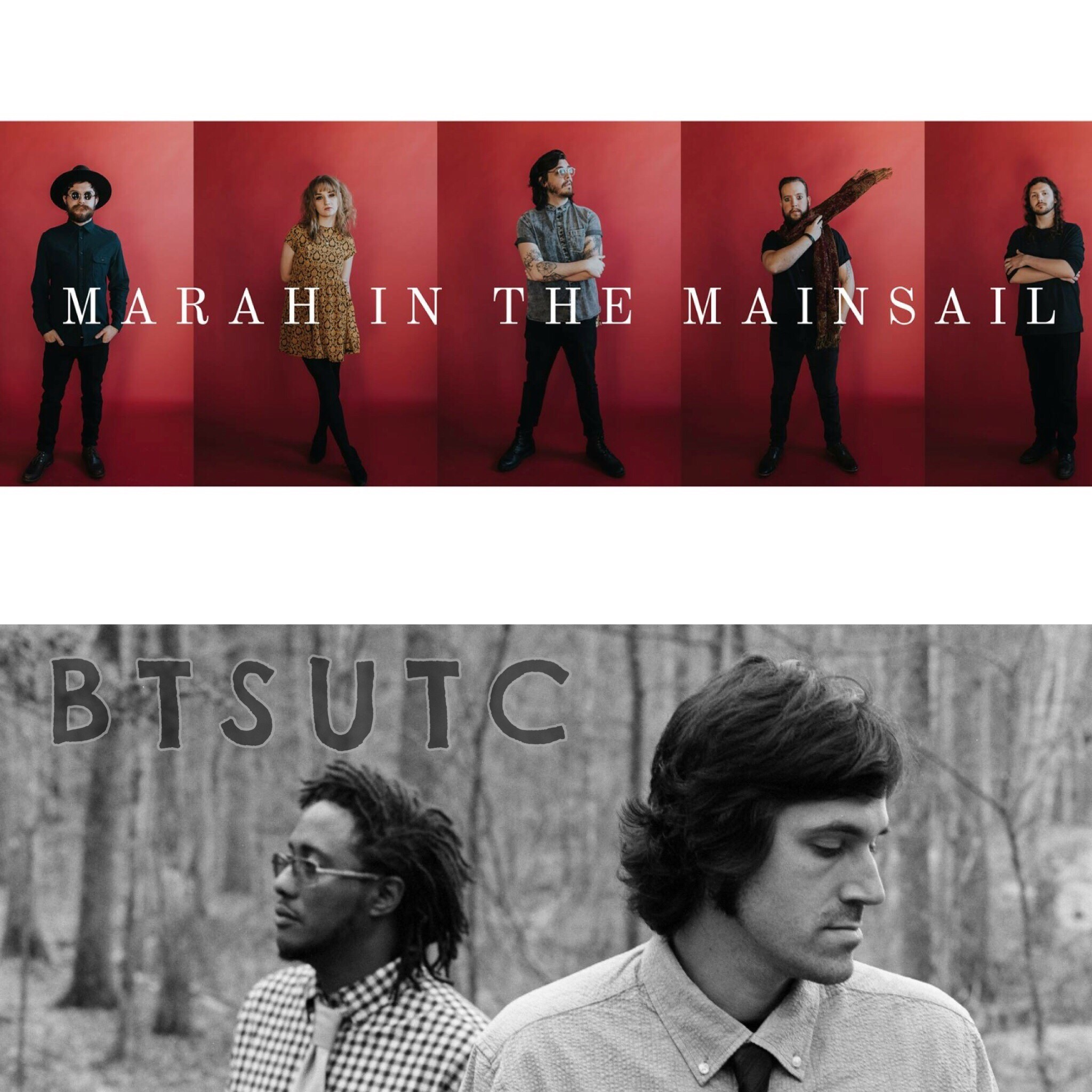 Marsh In The Mainsail with Bless These Sounds Under The City @ The Evening Muse